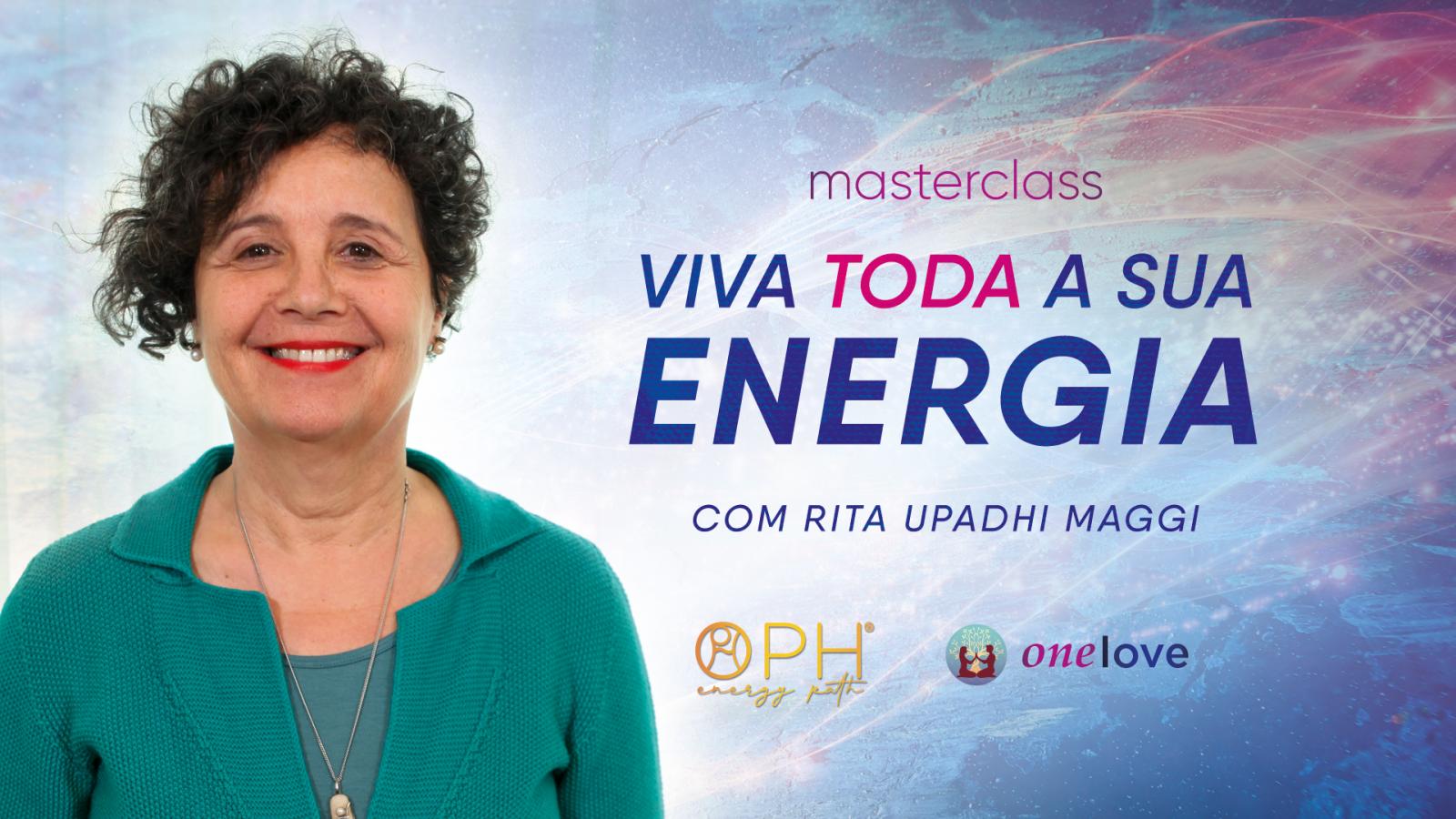 Viva Toda Sua Energia - Masterclass grátis